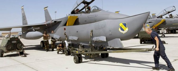 image of aircraft with crewman in front
