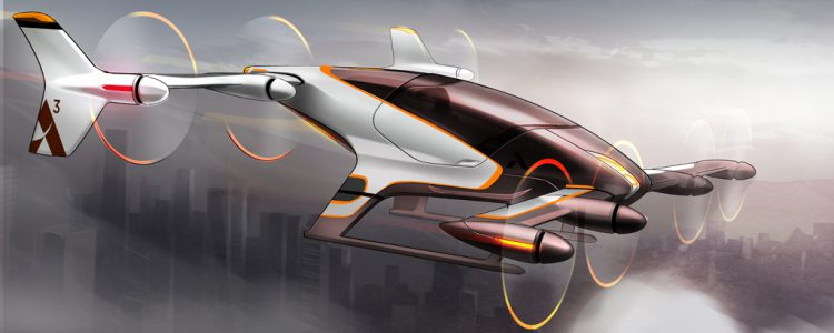 Concept illustration of Vahana aircraft