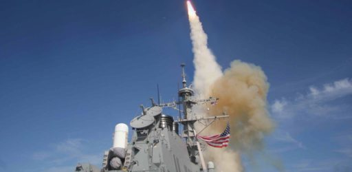 Image of missile being launched