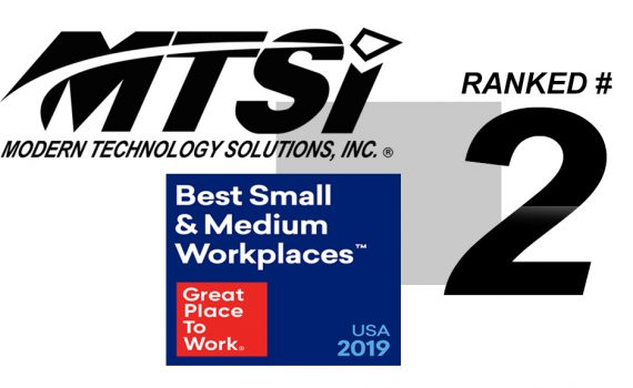 Fortune Names MTSI #2 on 2019 100 Best Medium Workplaces list