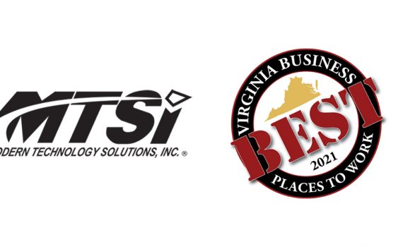 MTSI Virginia Business 2021 Best Places to Work